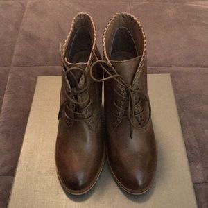 Antelope Brown Booties Style #B781 Size 8-8.5
